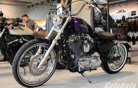 """Cận cảnh """"sắc tím"""" Harley Seventy-Two 2014 tại Sài Gòn"""