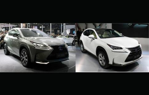 Cặp đôi Lexus NX nổi bật giữa triển lãm