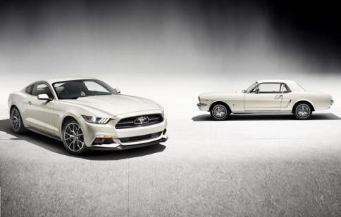 Ford Mustang mừng sinh nhật 50 tuổi bằng phiên bản đặc biệt
