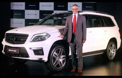Mercedes-Benz GL63 AMG ra mắt tại Ấn Độ