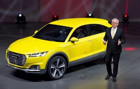 Xe off-road của Audi ra mắt, đe dọa Porsche Macan và BMW X4
