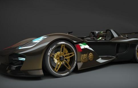 Dubai Roadster-siêu phẩm mới trong làng xe hơi