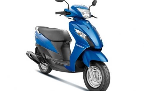 Suzuki sắp tung ra mẫu tay ga 110cc hoàn toàn mới
