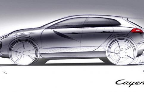 Porsche Cayenne coupe đối thủ của BMW X6