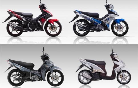 Điểm mặt những mẫu xe đời 2014 vừa ra mắt của Yamaha