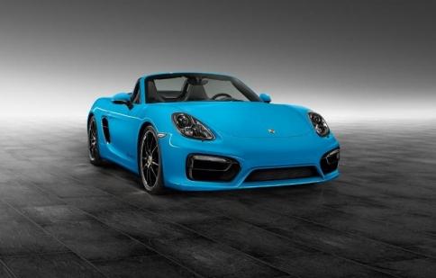 Porsche Exclusive Bespoke Boxster S màu xanh bắt mắt
