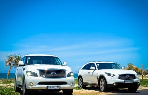 Cận cảnh cặp SUV Infiniti sắp ra mắt tại Việt Nam