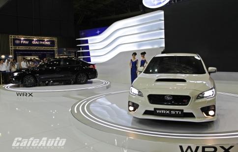 Cặp đôi Subaru WRX và WRX STI 2015 ra mắt tại Việt Nam