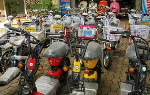 Những lưu ý tránh mua nhầm xe máy điện hoán cải