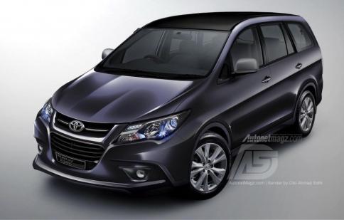 Toyota sắp ra mắt Innova hoàn toàn mới