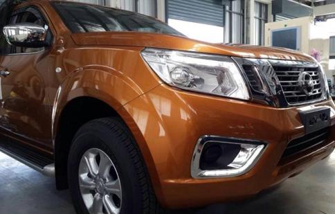 """Nissan Navara thế hệ mới tiếp tục lộ """"ảnh nóng"""""""