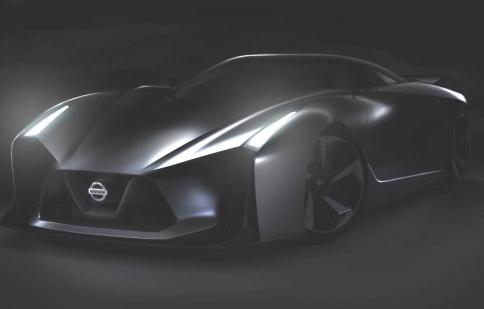 Nissan Vision Gran Turismo: hình ảnh tương lai của GT-R