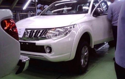 Rò rỉ hình ảnh Mitsubishi Triton thế hệ mới