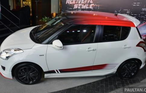 Suzuki Swift RS phong cách ra mắt tại Malaysia
