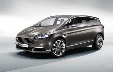Ford S-Max MPV 2015 sẽ ra mắt ở Paris Motor Show