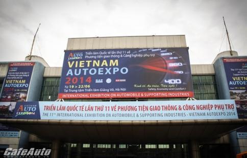 Khai mạc triển lãm Vietnam AutoExpo 2014