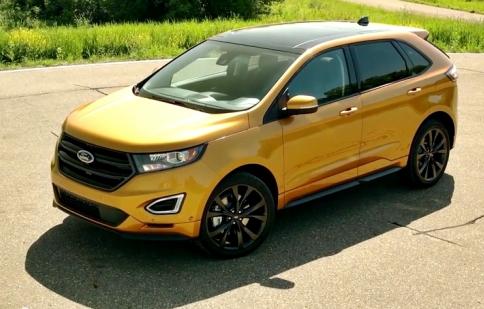 Ford vén màn Edge 2015 với thiết kế ấn tượng