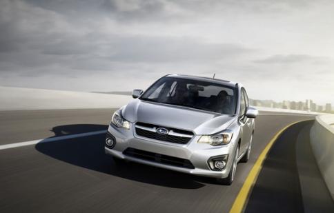 Bốn mẫu xe của Subaru bị lỗi dây phanh