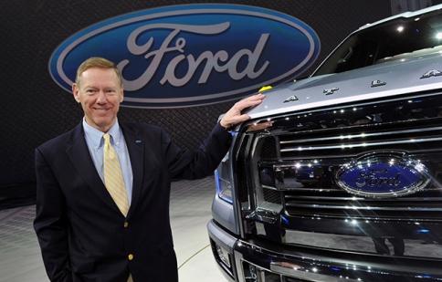 Huyền thoại Alan Mulally chính thức rời Ford