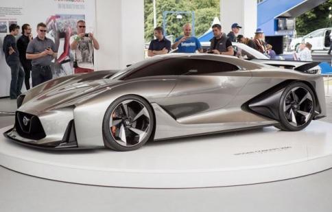 Nissan Concept 2020 Vision Gran Turismo chính thức ra mắt