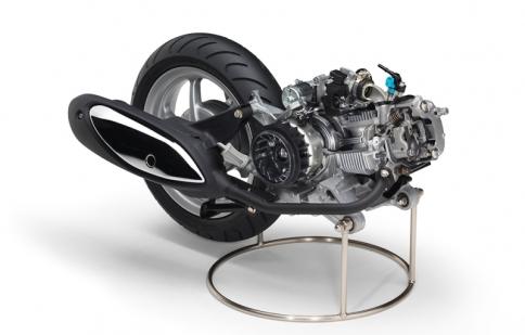 Yamaha ra mắt động cơ tay ga Blue Core hoàn toàn mới