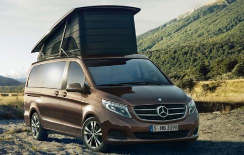 Mercedes-Benz ra mắt xe dành cho dân mê cắm trại