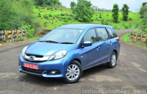 Honda Mobilio đang gây sốt tại Ấn Độ