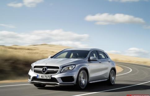 Mercedes-Benz GLA sẽ có giá từ 31.000 USD