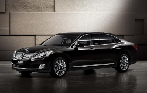 Hyundai ra mắt Equus Limousine chinh phục giới nhà giàu Nga