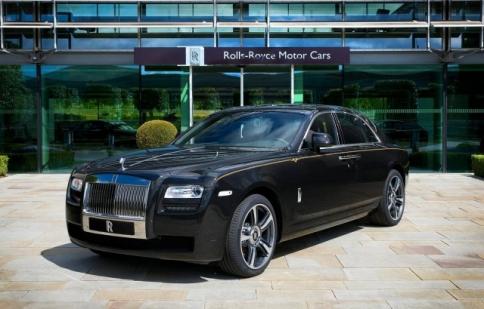 Rolls-Royce tung xe sang Ghost V-Specification cho thị trường Nhật