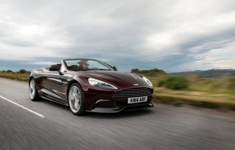 Aston Martin trình làng Vanquish và Rapide S 2015