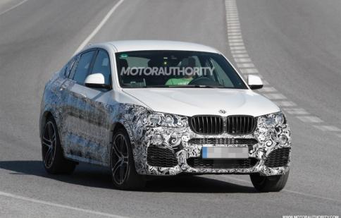 Bắt gặp BMW X4 M trên đường thử