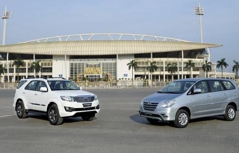 Tháng 7, Toyota Việt Nam tăng trưởng cao nhất trong năm