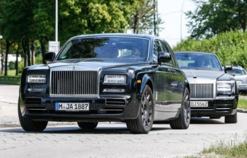 Xuất hiện hình ảnh Rolls-Royce Phantom thế hệ mới