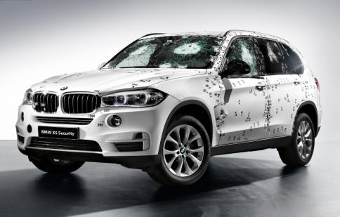 BMW X5 siêu chống đạn sẽ ra mắt tại Nga