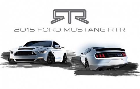 Ford Mustang RTR 2015 sẽ ra mắt ở SEMA Show