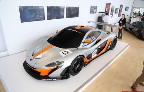Xuất hiện siêu xe đua McLaren P1 GTR Concept mạnh 1.000 mã lực