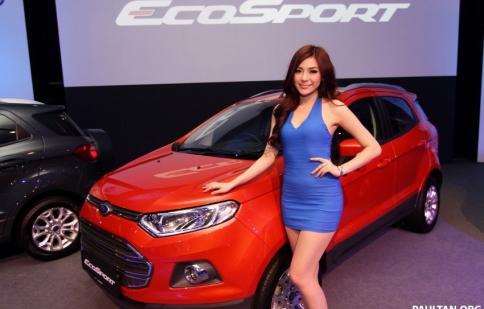 Ford EcoSport có giá từ 622 triệu đồng tại Malaysia