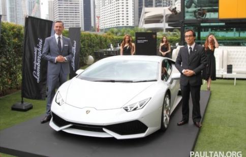 Lamborghini Huracan LP 610-4 ra mắt ở Malaysia, giá từ 14 tỷ