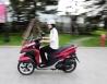 Xe 3 bánh Yamaha Tricity đầu tiên tại Hà Nội