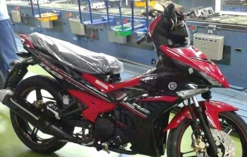 """Lộ """"ảnh nóng"""" Yamaha Exciter 150cc phiên bản sản xuất"""