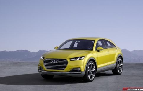 Audi TT sắp có biến thể mới