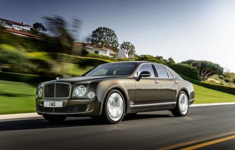 Bentley Mulsanne Speed mạnh tới 530 mã lực