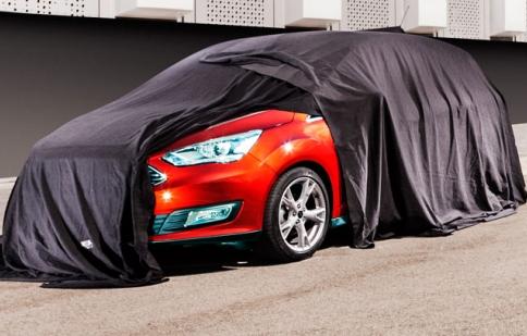 Ford hé lộ gương mặt C-MAX 2015
