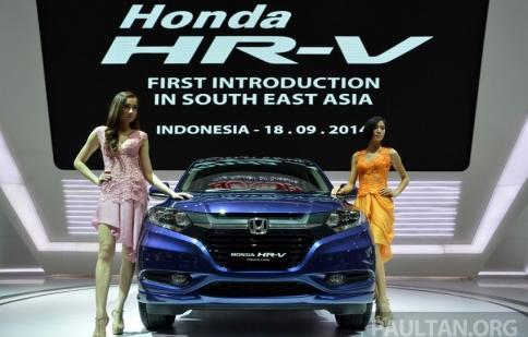 Honda HR-V chính thức chào sân Đông Nam Á