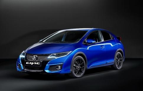Honda Civic 2015 làm mới để dự triển lãm