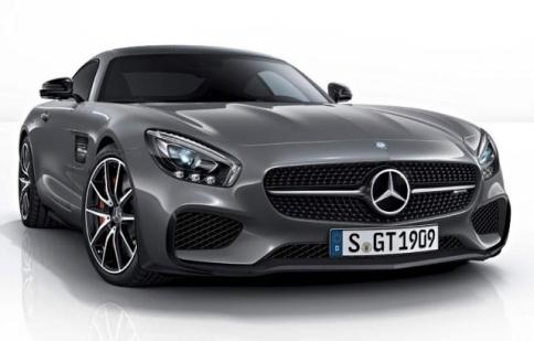"Lộ ""ảnh nóng"" Mercedes AMG GT Edition 1"