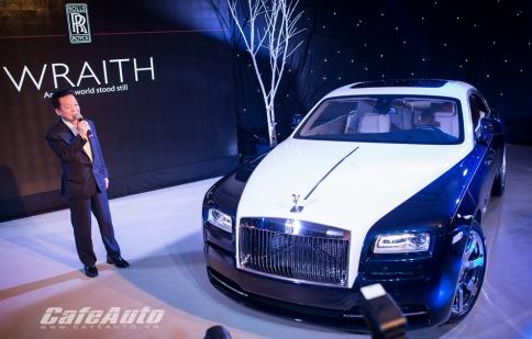 Đại gia Việt tậu Rolls-Royce Wraith giá gần 19 tỷ đồng