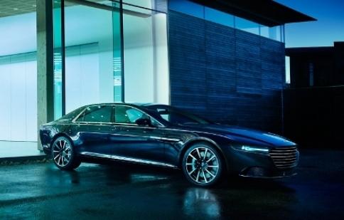"""Lộ diện """"quý tộc Anh"""" Aston Martin Lagonda"""