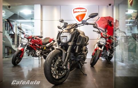 Mục sở thị Ducati Diavel 2015 tại Việt Nam